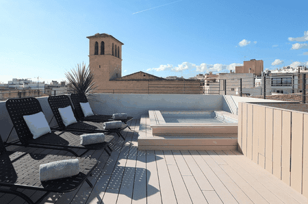 Rooftop terrace at Summum Prime Boutique Hotel | Courtesy Summum Prime Boutique Hotel