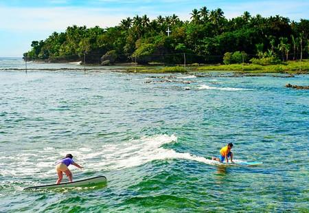 Surfers in Siargao