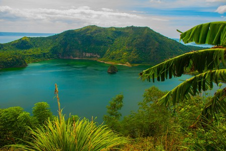 View of Taal Lake in Tagaytay, Vulcan Point