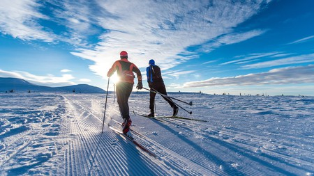 Skiing at Trysil