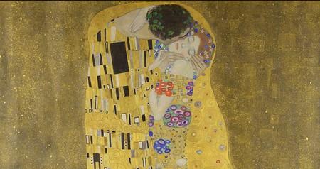 Gustav Klimt, 'The Kiss' | via WikiCommons