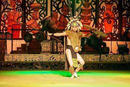 Sarawak's Iban traditional costume and dance