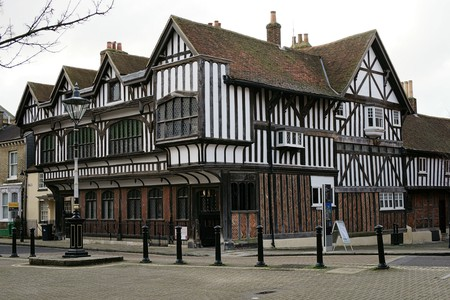 Tudor House, still standing as evidence of part of Southampton's rich history