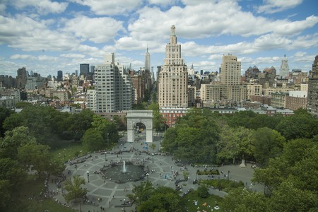 A view of Washington Square Park from NYU's Kimmel Center | © Doc Searls / Flickr