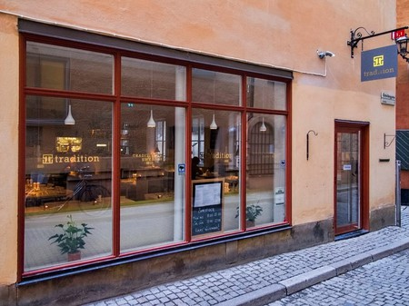 The charming Tradition restaurant in Stockholm's old town