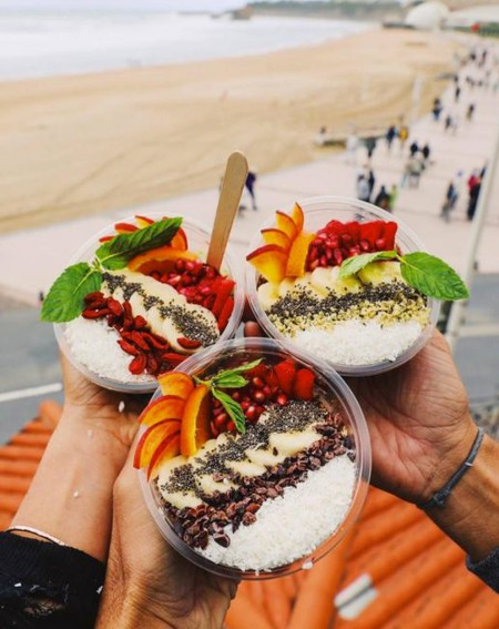 The delicious bowls from Bali Bowls