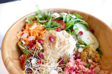 Vegan bowls from Beach Garden