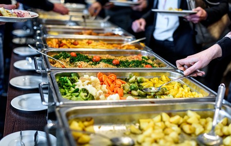 Buffets are perfect for plenty of options