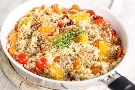 Vegetarians can enjoy quinoa-based dishes at Manuka