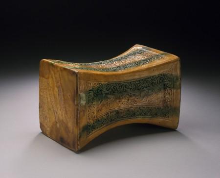 Chinese Funerary Headrest