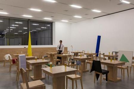 Migros Museum, Laura Lima, Bar Restaurant, 2010/13, Exhibition view, Migros Museum für Gegenwartskunst
