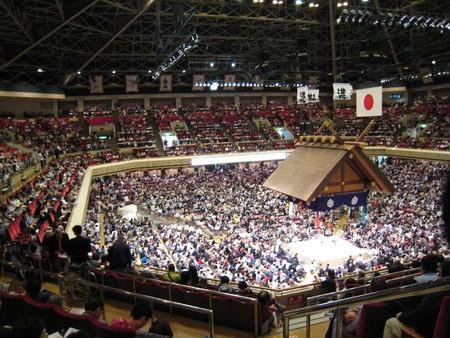 Ryōgoku Kokugikan is the largest sumo hall in Japan