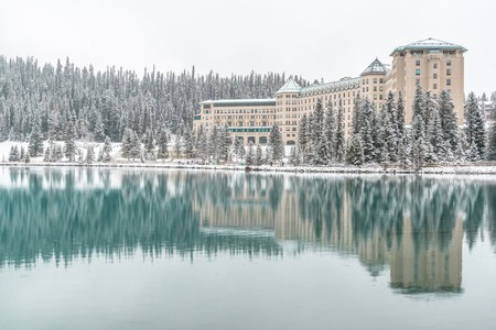 Winter at Lake Louise