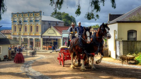 The Lorry at Sovereign Hill