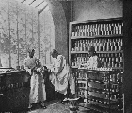 Chinese Tea Dealers in the 19th century