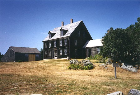 The Olson House, known as the backdrop for Andrew Wyeth's painting, Christina's World