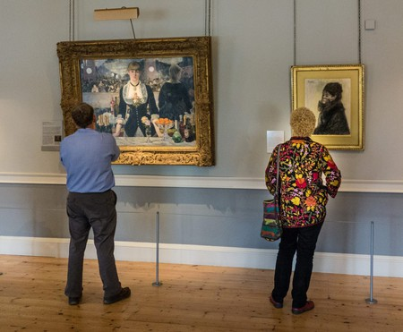 Visitors at The Courtauld Gallery
