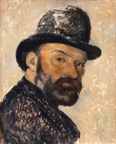 Paul Cézanne, Self Portrait in a Bowler Hat, 1892. Photograph: National Portrait Gallery, London