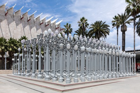 LACMA's Urban Lights