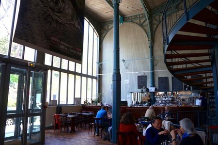 Cafe at Halle Saint Pierre