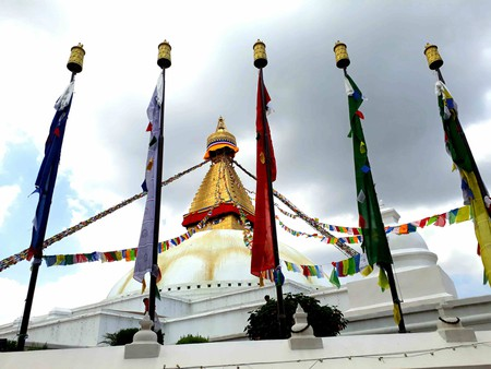 The great stupa at Boudhanath