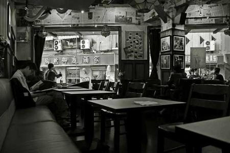 The interior of Marienbad Café
