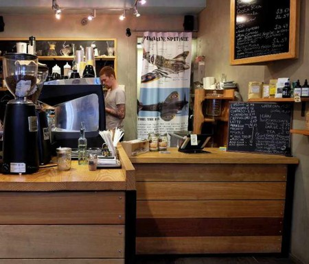 The Spitfire coffee shop on St Peter Street