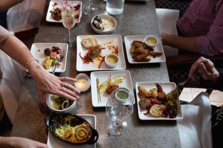 Variety of signature dishes at Enoteca