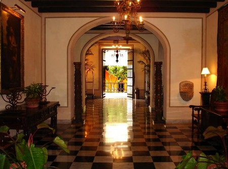 The El Convento Hotel lobby
