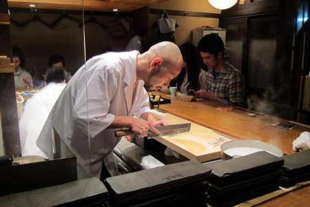Preparing kaiseki