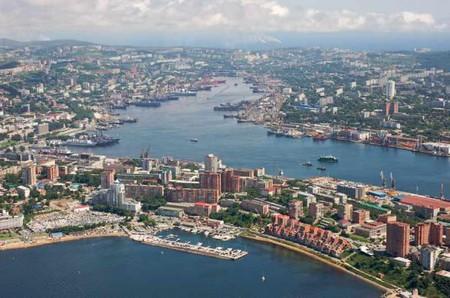 Vladivostok's waterfront