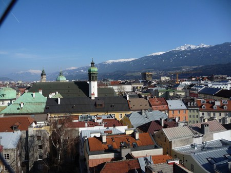 View over Innsbruck
