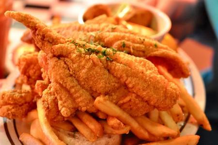 Shrimp and Catfish Platter