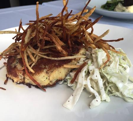 Pan seared jumbo lump crab cake