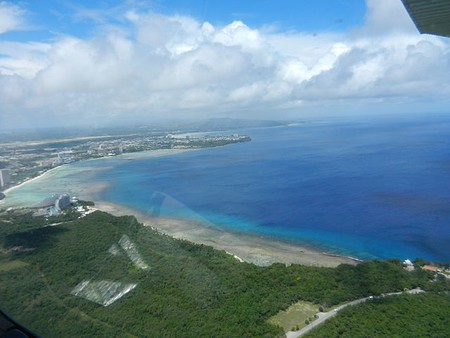 Hotel and Beach at Guam