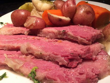 The Ale House Grill's corned beef and cabbage