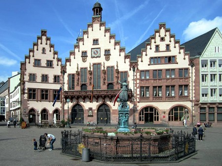 Römerberg, the heart of medieval Frankfurt