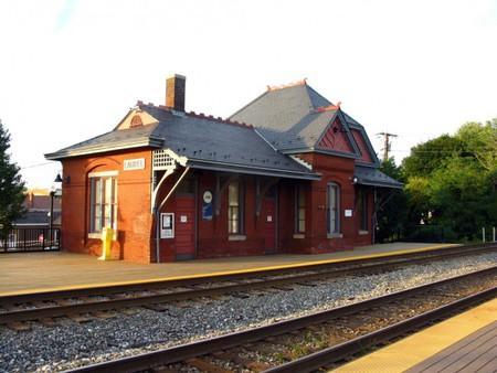 Laurel Rail Station