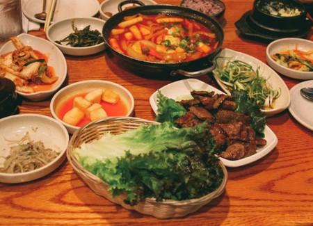 Korean Food Sampling