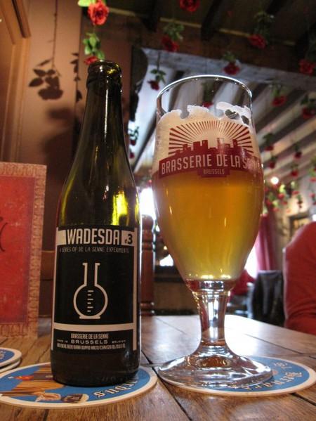 Beer brewed by the Brasserie de la Senne