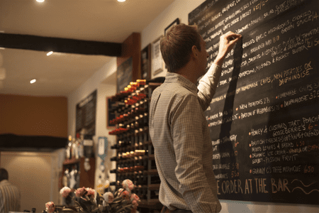 Blackboard Menu being changed by Tom