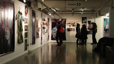 Exhibition space second floor