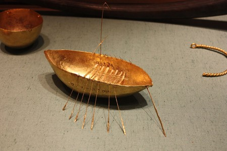 The Broighter Boat at the National Museum of Ireland