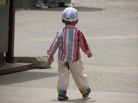 Chinese Split Pants