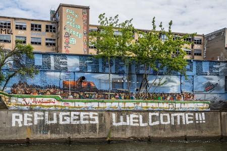 Refugees Welcome Mural   © Susanne Nilsson / Flickr