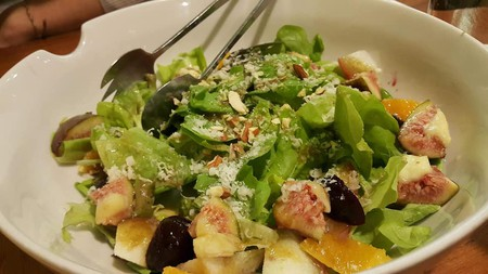 The awesome salad at Gleaners Kitchen & Bakery | Courtesy of Gleaners Kitchen & Bakery