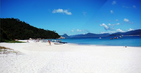 Ilha do Campeche island in Brazil