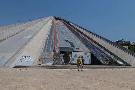 The Pyramid of Tirana  ©Bruno Vanbesien/Flickr