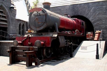 The Hogwarts Express at Universal Studios Hollywood