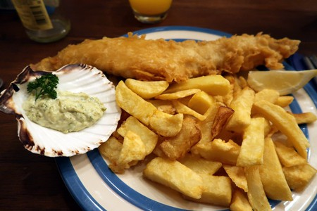 It's all about the fish and chips